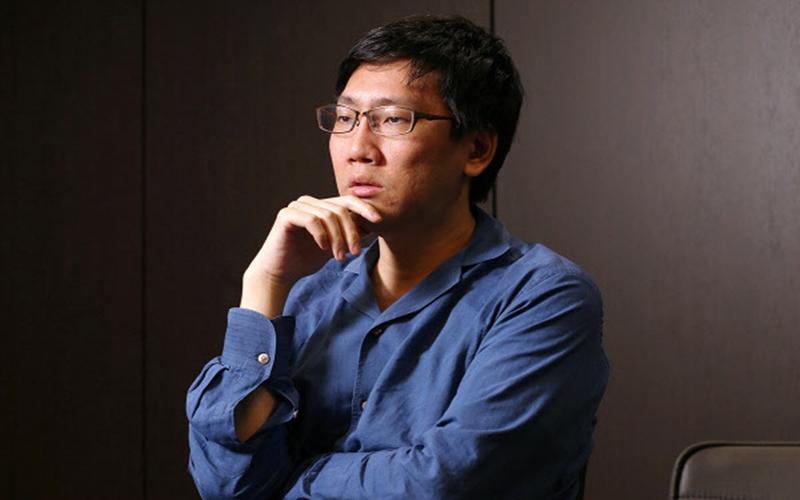 日本の有名人投資家、片山晃氏の写真