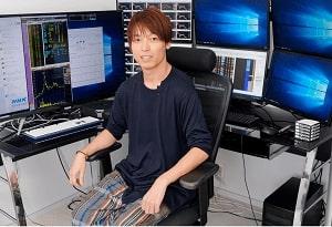 日本の有名人投資家、テスタ氏の写真